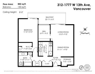 """Photo 18: 312 1777 W 13TH Avenue in Vancouver: Fairview VW Condo for sale in """"MONT CHARLES"""" (Vancouver West)  : MLS®# R2569419"""