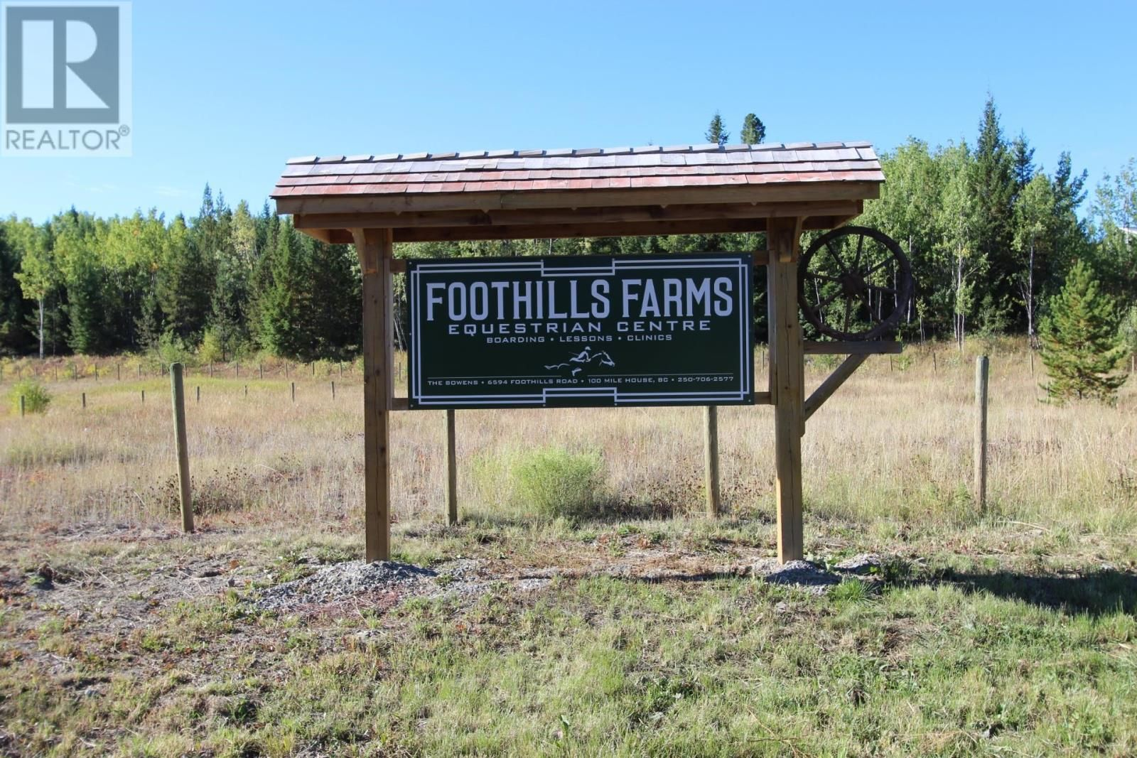 Main Photo: 6594 FOOTHILLS ROAD in 100 Mile House (Zone 10): Agriculture for sale : MLS®# C8040123