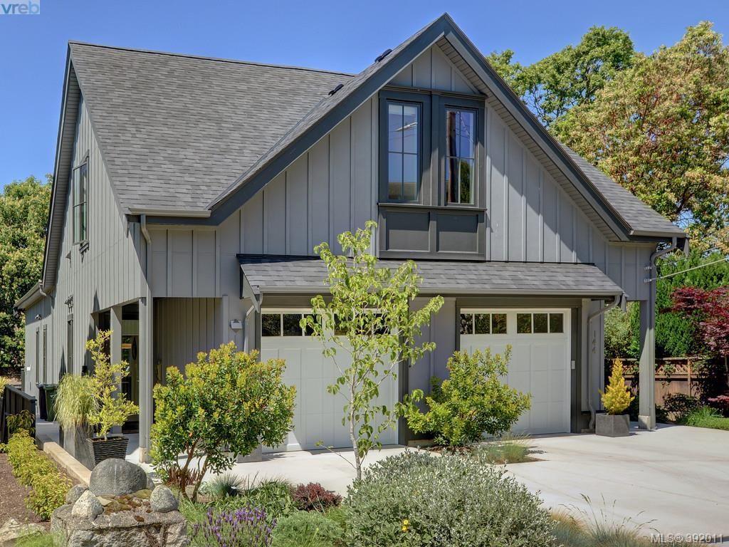 Main Photo: 142 St. Andrews St in VICTORIA: Vi James Bay Half Duplex for sale (Victoria)  : MLS®# 787996