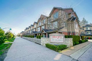 """Photo 1: 14 7121 192 Street in Surrey: Clayton Townhouse for sale in """"Allegro"""" (Cloverdale)  : MLS®# R2450594"""