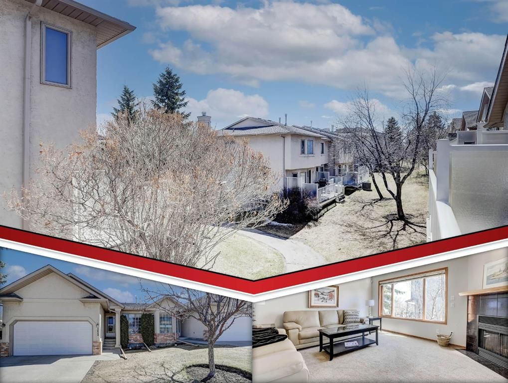 Main Photo: 1412 Costello Boulevard SW in Calgary: Christie Park Semi Detached for sale : MLS®# A1099320