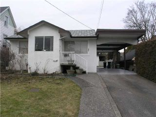 """Photo 1: 407 Shiles Street in New Westminster: The Heights NW House for sale in """"THE HEIGHTS"""" : MLS®# V867813"""