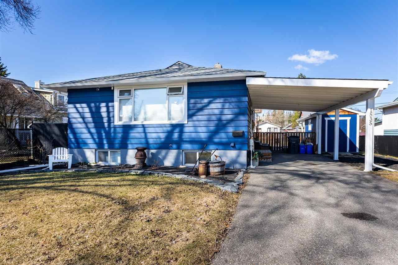 Main Photo: 1535 FIR Street in Prince George: Millar Addition House for sale (PG City Central (Zone 72))  : MLS®# R2568253