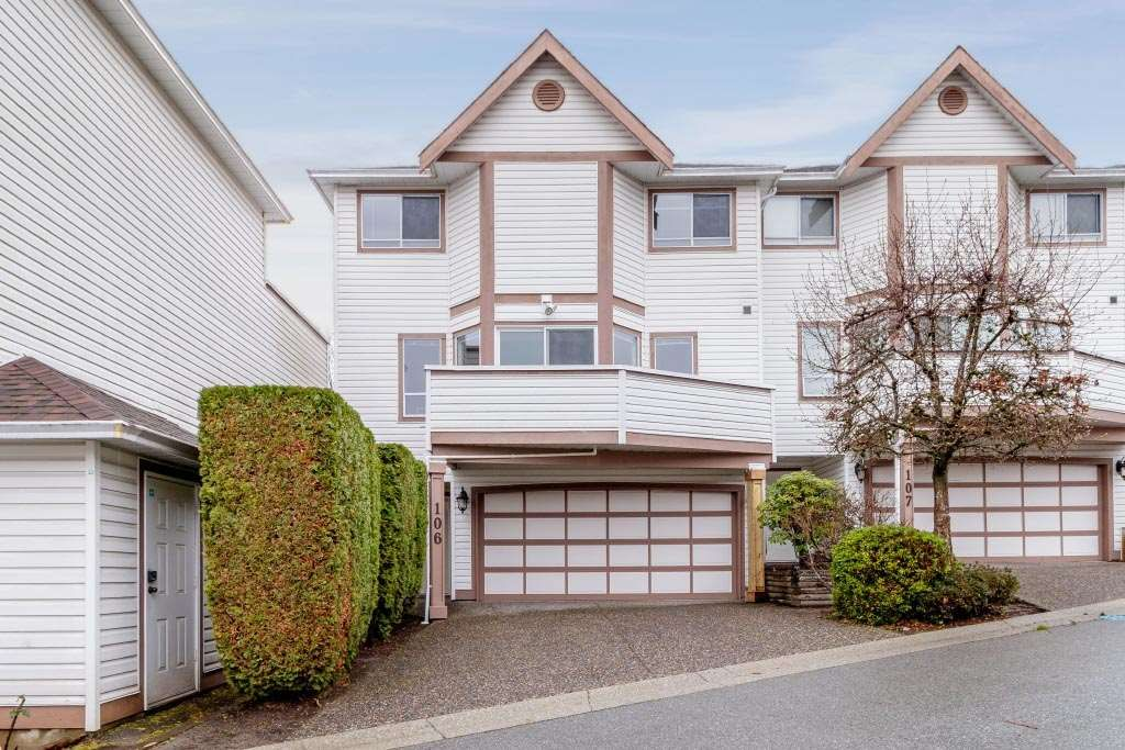"Main Photo: 106 1232 JOHNSON Street in Coquitlam: Scott Creek Townhouse for sale in ""GREENHILL PLACE"" : MLS®# R2423367"