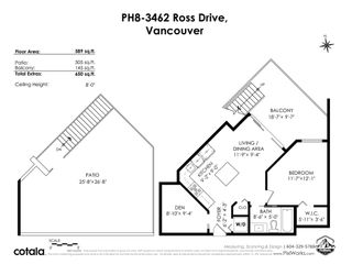 """Photo 19: PH8 3462 ROSS Drive in Vancouver: University VW Condo for sale in """"Prodigy"""" (Vancouver West)  : MLS®# R2571917"""