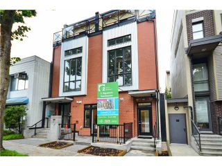 """Photo 1: 3711 COMMERCIAL Street in Vancouver: Victoria VE Townhouse for sale in """"O2"""" (Vancouver East)  : MLS®# V1025256"""