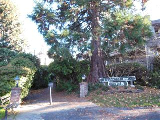 """Photo 1: 413 1385 DRAYCOTT Road in North Vancouver: Lynn Valley Condo for sale in """"Brookwood North"""" : MLS®# V1036601"""