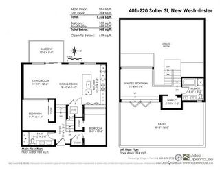 """Photo 20: 401 220 SALTER Street in New Westminster: Queensborough Condo for sale in """"GLASSHOUSE LOFTS"""" : MLS®# R2159431"""