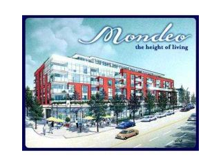 """Photo 1: 509 3811 HASTINGS Street in Burnaby: Vancouver Heights Condo for sale in """"MONDEO"""" (Burnaby North)  : MLS®# V905399"""