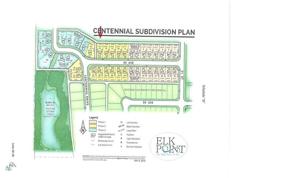 Main Photo: 5150 60 Ave: Elk Point Vacant Lot for sale : MLS®# E4102344