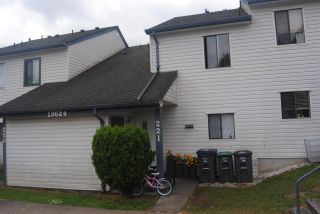 """Photo 1: 221 13624 67 Avenue in Surrey: East Newton Townhouse for sale in """"Hyland Creek"""" : MLS®# R2074977"""