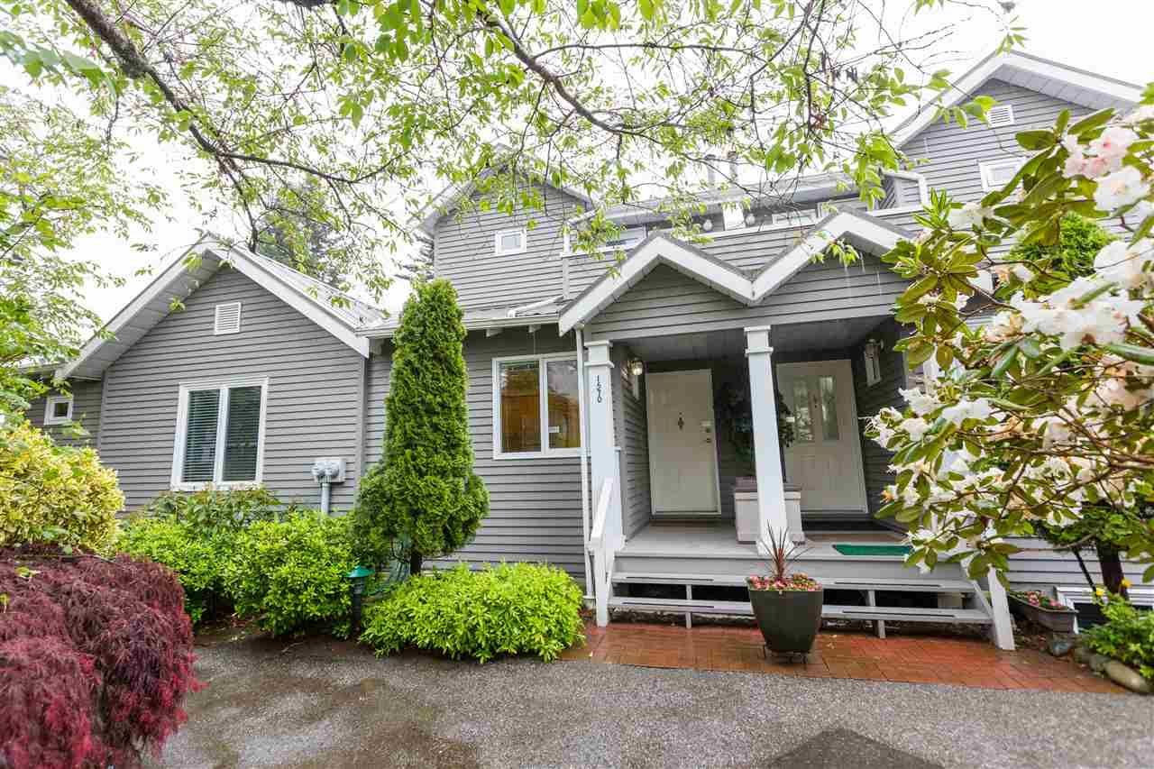 """Main Photo: 1570 BOWSER Avenue in North Vancouver: Norgate Townhouse for sale in """"Illahee"""" : MLS®# R2363126"""