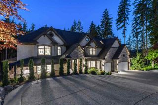 Photo 1: 1418 CRYSTAL CREEK Drive: Anmore House for sale (Port Moody)  : MLS®# R2591410