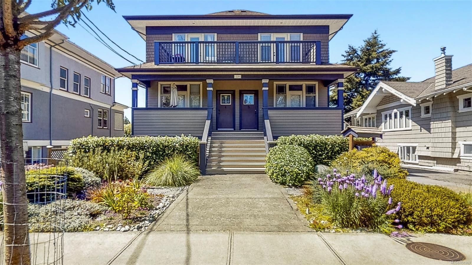 Main Photo: 1 220 Moss St in : Vi Fairfield West Row/Townhouse for sale (Victoria)  : MLS®# 851269