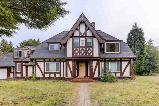 Photo 1: 5770 CHANCELLOR Boulevard in Vancouver: University VW House for sale (Vancouver West)  : MLS®# R2547876