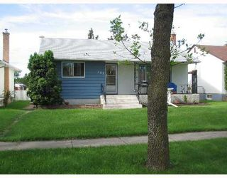 Photo 1: 708 MCADAM Avenue in WINNIPEG: West Kildonan / Garden City Single Family Detached for sale (North West Winnipeg)  : MLS®# 2711404