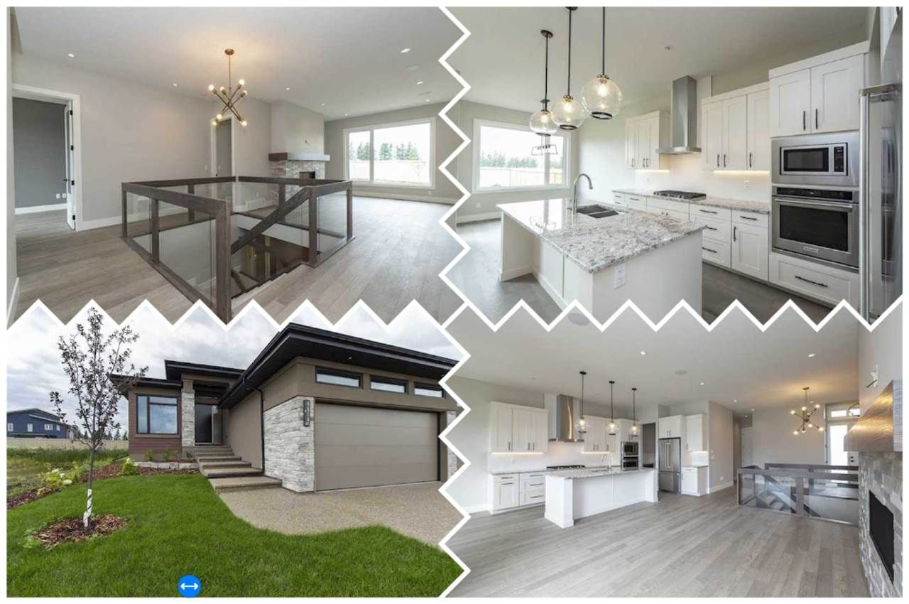 Main Photo: 4610 Knight Point in Edmonton: Zone 56 House Half Duplex for sale : MLS®# E4224095