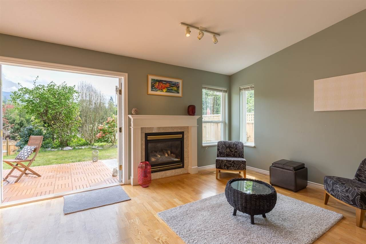 Bright open layout, with french doors leading to the fully fenced back yard