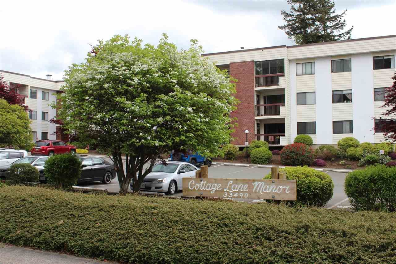 "Main Photo: 210 33490 COTTAGE Lane in Abbotsford: Central Abbotsford Condo for sale in ""Cottage Lane"" : MLS®# R2567798"