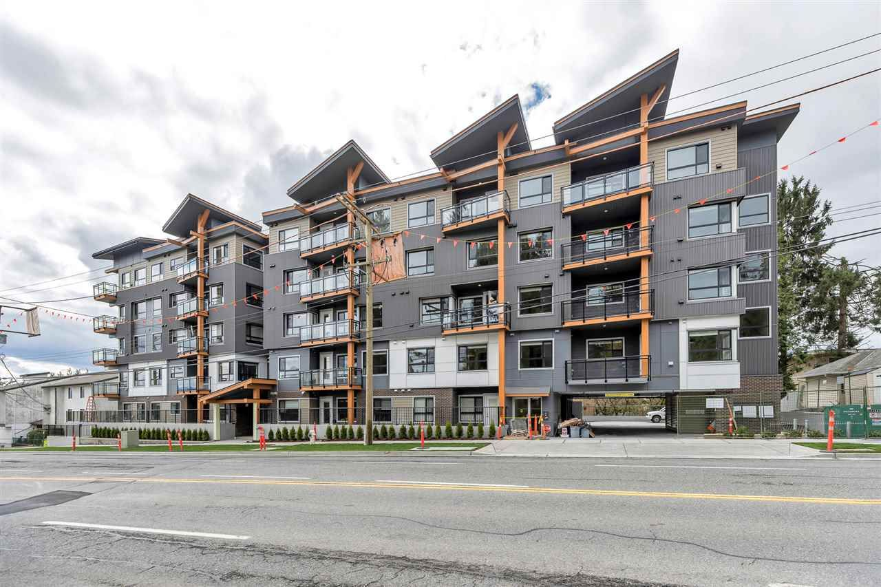 "Main Photo: 210 33568 GEORGE FERGUSON Way in Abbotsford: Central Abbotsford Condo for sale in ""The EDGE"" : MLS®# R2569026"