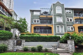"""Photo 1: 304 1189 WESTWOOD Street in Coquitlam: North Coquitlam Condo for sale in """"LAKESIDE TERRACE"""" : MLS®# R2416866"""