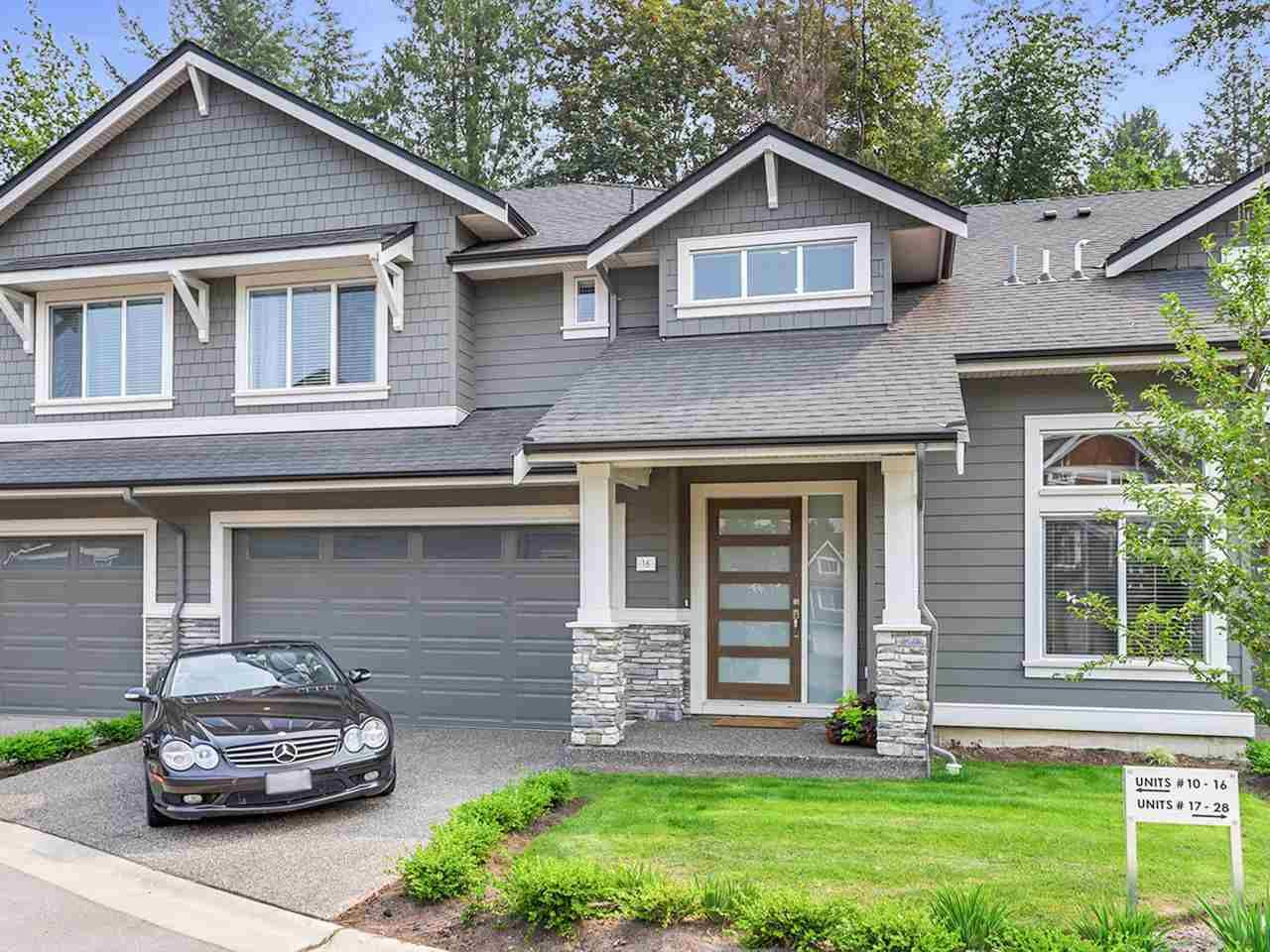 """Main Photo: 16 3103 160 Street in Surrey: Grandview Surrey Townhouse for sale in """"PRIMA"""" (South Surrey White Rock)  : MLS®# R2298557"""