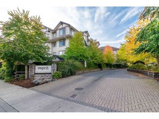 "Photo 1: 209 19340 65 Avenue in Surrey: Clayton Condo for sale in ""ESPRIT at SOUTHLANDS"" (Cloverdale)  : MLS®# R2406727"