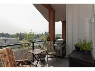 """Photo 19: 416 20219 54A Avenue in Langley: Langley City Condo for sale in """"SUEDE LIVING"""" : MLS®# R2590437"""