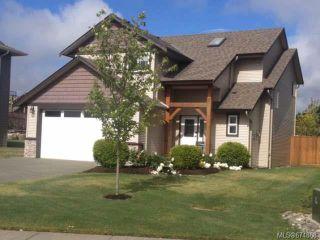 Photo 1: 649 HORNET Way in COMOX: CV Comox (Town of) House for sale (Comox Valley)  : MLS®# 674868