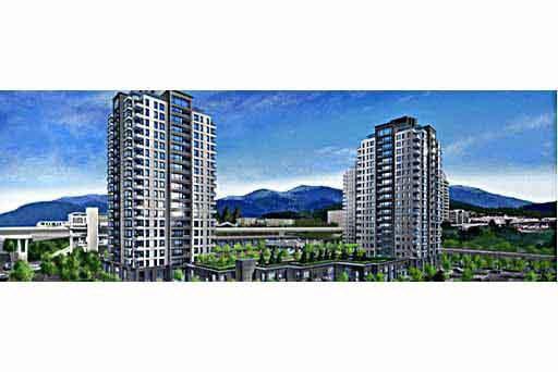 Main Photo: 404 4140 B DAWSON STREET in : Brentwood Park Condo for sale : MLS®# V407356