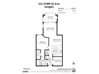 """Photo 2: 316 21009 56 Avenue in Langley: Salmon River Condo for sale in """"""""CORNERSTONE"""""""" : MLS®# R2604621"""