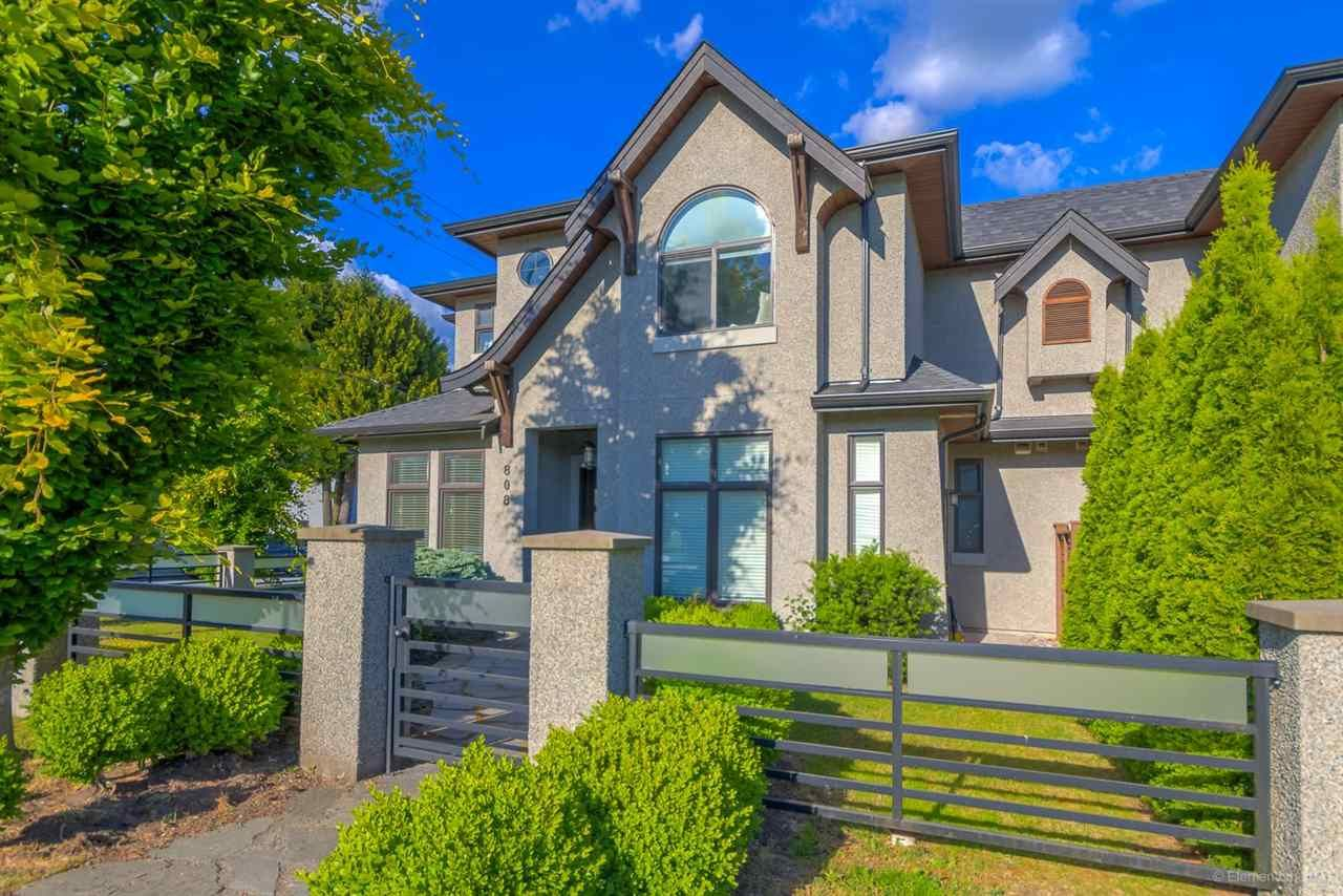 Main Photo: 808 SPERLING Avenue in Burnaby: Sperling-Duthie 1/2 Duplex for sale (Burnaby North)  : MLS®# R2590513
