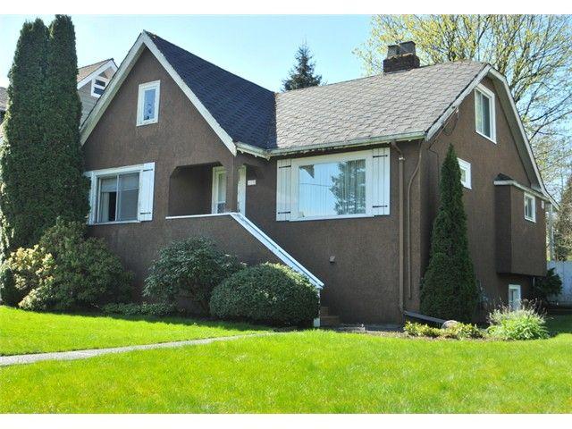 "Main Photo: 628 SECOND Street in New Westminster: GlenBrooke North House for sale in ""GLENBROOKE NORTH"" : MLS®# V1128344"