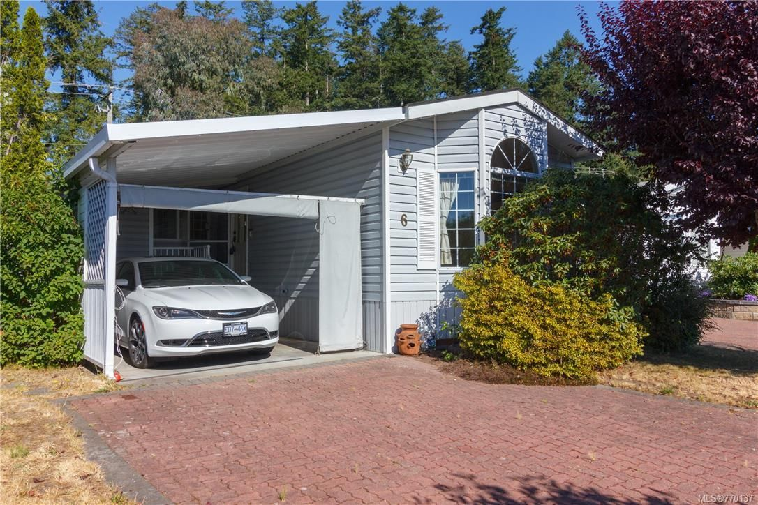 Main Photo: 6 7583 Central Saanich Rd in Central Saanich: CS Hawthorne Manufactured Home for sale : MLS®# 770137