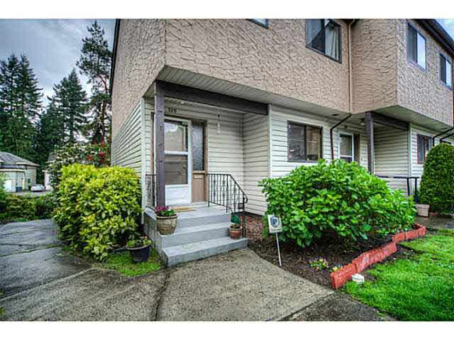 Main Photo: 129 511 GATENSBURY STREET in : Central Coquitlam Townhouse for sale : MLS®# V1126477