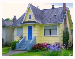 Photo 1: 3055 WATERLOO Street in Vancouver: Kitsilano House for sale (Vancouver West)  : MLS®# V713264