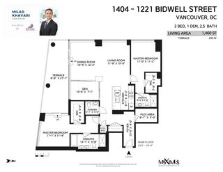 """Photo 38: 1404 1221 BIDWELL Street in Vancouver: West End VW Condo for sale in """"Alexandra"""" (Vancouver West)  : MLS®# R2591398"""