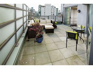 """Photo 1: 407 501 PACIFIC Street in Vancouver: Downtown VW Condo for sale in """"THE 501"""" (Vancouver West)  : MLS®# V1114876"""