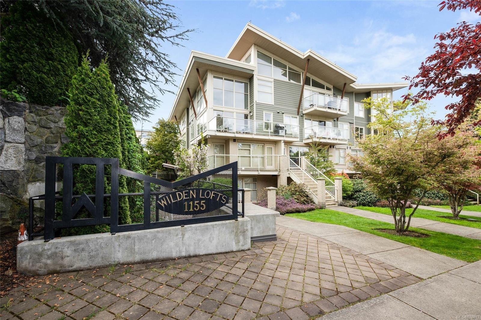 Main Photo: 103 1155 Yates St in : Vi Downtown Condo for sale (Victoria)  : MLS®# 874413