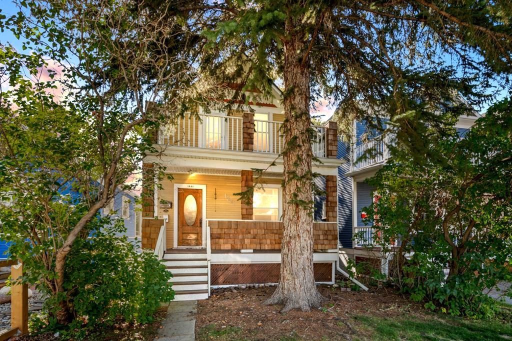 Wonderful curb appeal on this beautifully renovated 1911 home