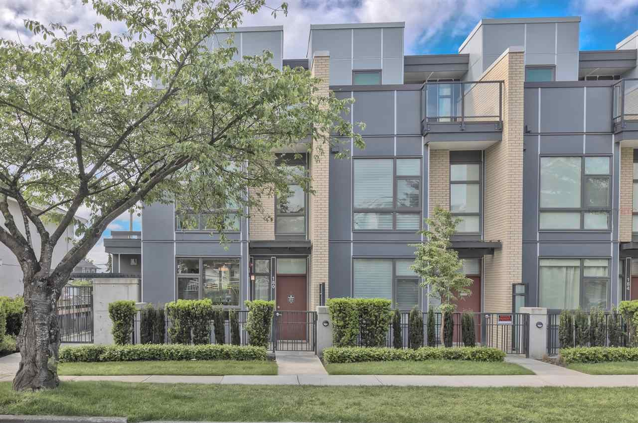 """Main Photo: 180 W 63RD Avenue in Vancouver: Marpole Townhouse for sale in """"CHURCHILL"""" (Vancouver West)  : MLS®# R2536694"""