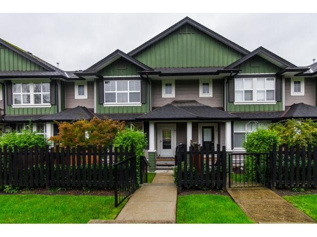 """Main Photo: 16 18199 70TH Avenue in Surrey: Cloverdale BC Townhouse for sale in """"Augusta"""" (Cloverdale)  : MLS®# F1424865"""
