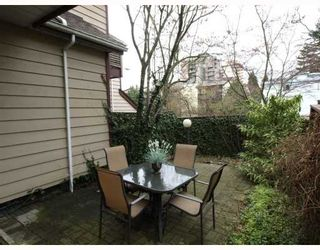 """Photo 10: 642 ST GEORGES Avenue in North_Vancouver: Lower Lonsdale Townhouse for sale in """"St.Georges Court"""" (North Vancouver)  : MLS®# V762753"""
