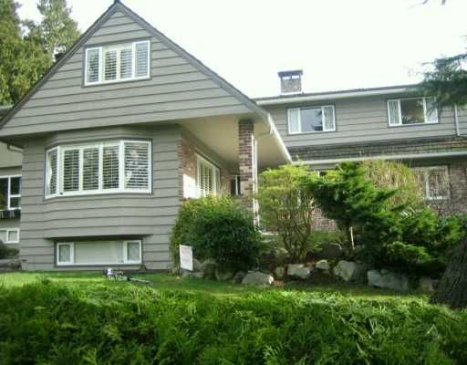 Main Photo: 6252 McCleery St. in Vancouver: Kerrisdale House for sale (Vancouver West)  : MLS®# V573914