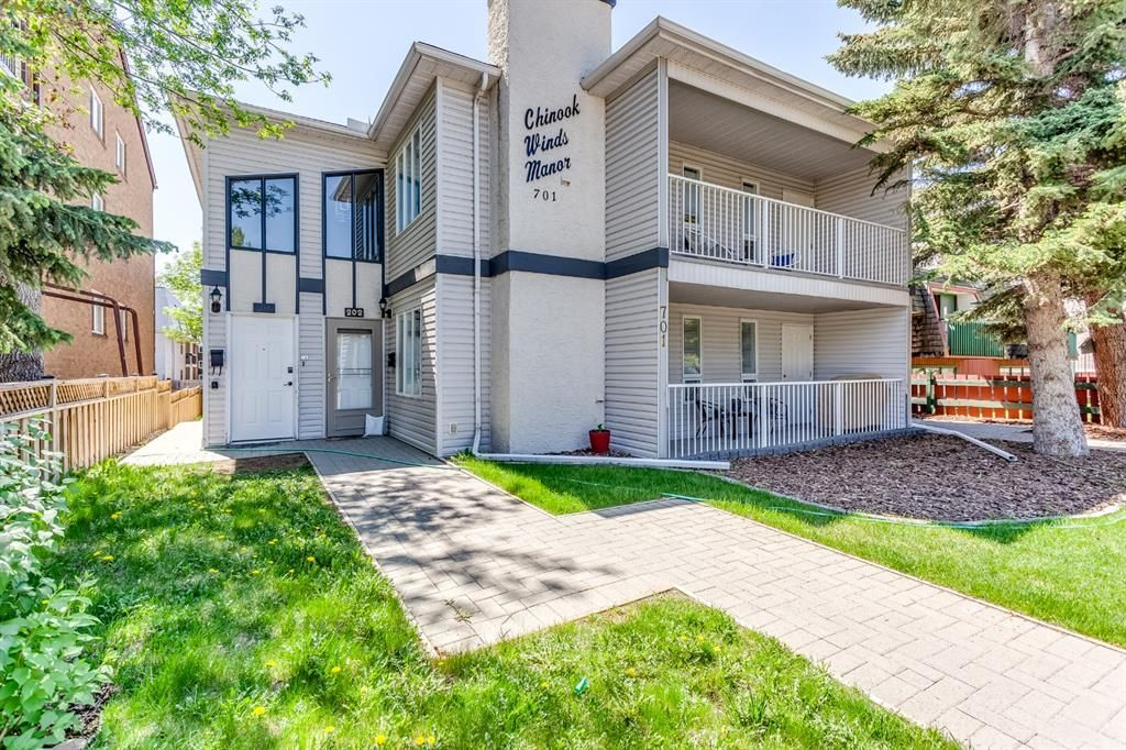 Main Photo: 201 701 56 Avenue SW in Calgary: Windsor Park Apartment for sale : MLS®# A1115655