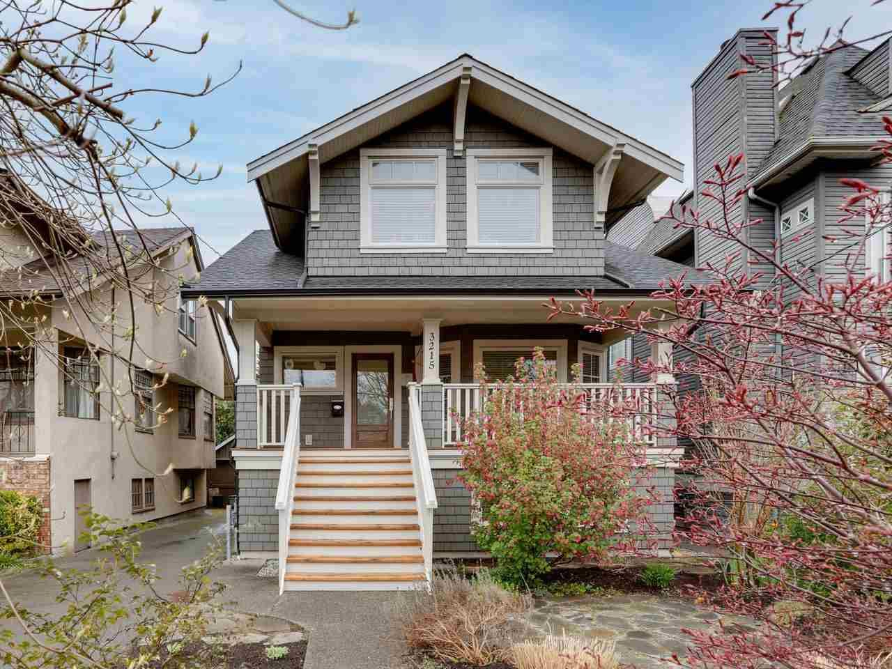 Main Photo: 3215 W 6TH AVENUE in Vancouver: Kitsilano House for sale (Vancouver West)  : MLS®# R2563237