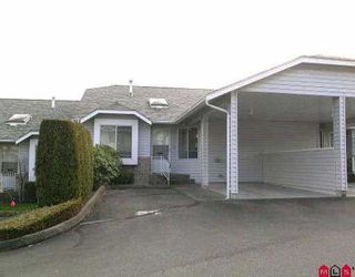 """Photo 1: 54 2989 TRAFALGAR ST in Abbotsford: Central Abbotsford Townhouse for sale in """"SUMMER WYNDE"""" : MLS®# F2604247"""