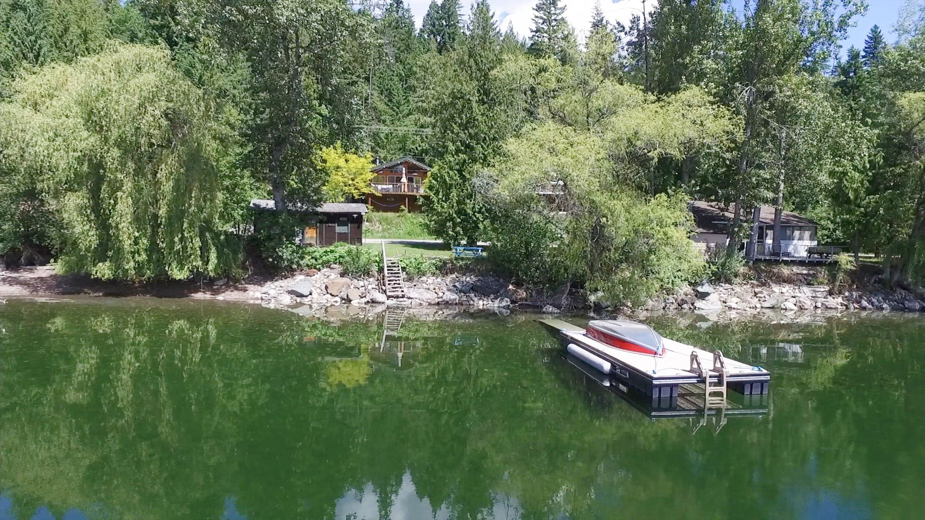 Main Photo: 7633 Squilax Anglemont Road: Anglemont House for sale (North Shuswap)  : MLS®# 10233439
