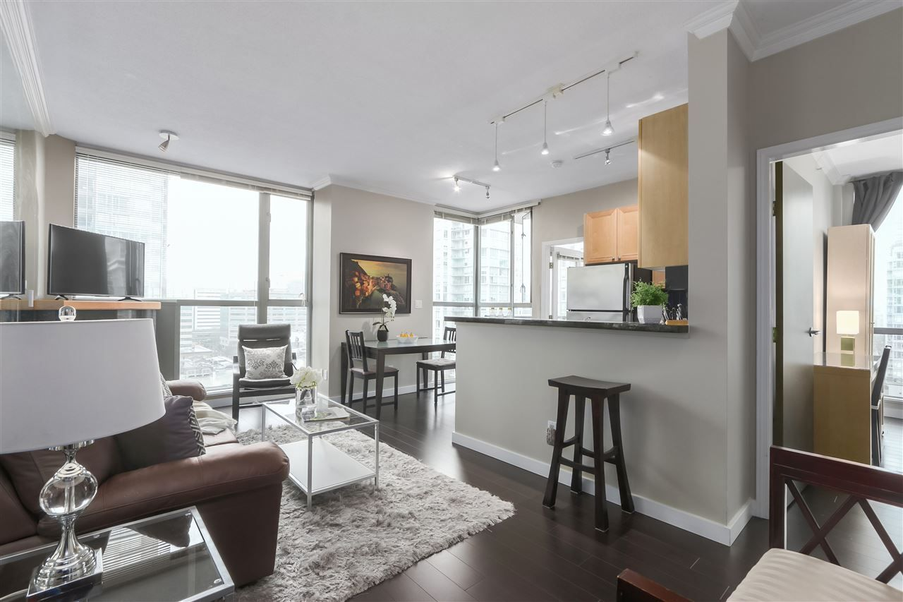 Main Photo: 1601 928 RICHARDS STREET in Vancouver: Yaletown Condo for sale (Vancouver West)  : MLS®# R2441167