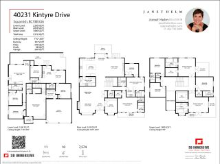 Photo 39: 40231 KINTYRE Drive in Squamish: Garibaldi Highlands House for sale : MLS®# R2590871